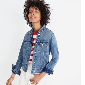 Madewell The Shrunken Stretch Jean Jacket